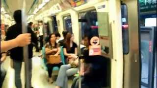 preview picture of video '台北【地下鉄MRT】風景 | Mass Rapid Transit'