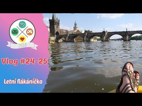 Vlog #24 - 25: Letní flákáníčko