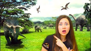 Парк Динозавров и Комната Страха IMG Worlds Парк Развлечений Дубай | Elli Di
