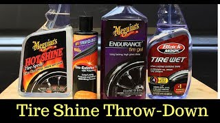 What Is The Best Tire Shine?