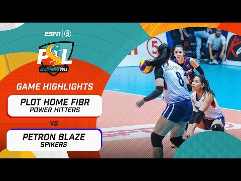 [Sport5]  Highlights: PLDT Home Fibr vs Petron Blaze | PSL Invitational Conference 2019