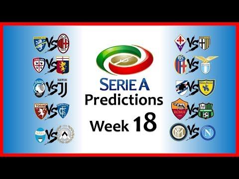 2018-19 SERIE A PREDICTIONS - WEEK 18