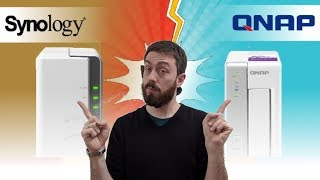 Synology DS119j vs QNAP TS 131p 1-Bay Budget NAS in 2019