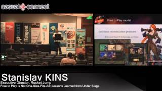 Free To Play Is Not One-Size-Fits-All: Lessons Learned From Under Siege | Stanislav KINS