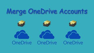 Merge OneDrive Account Directly|Free|Easily