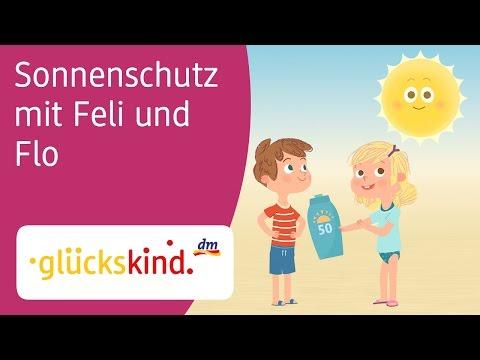 Sonnenschutz mit Feli und Flo