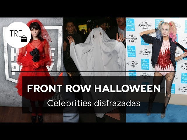 DISFRACES ORIGINALES DE HALLOWEEN: IDEAS DE LAS CELEBRITIES | TRENDENCIAS