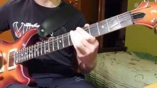 #4 Kukiz & Piersi - Całuj Mnie - guitar cover by DJdan7 Guitarcovers PL