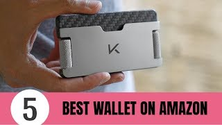 5 Best WALLET On Amazon 2020 - Best Minimalist Wallet And Card Holder
