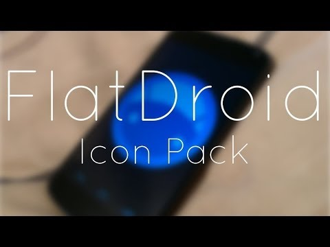 Video of FlatDroid - Icon Pack