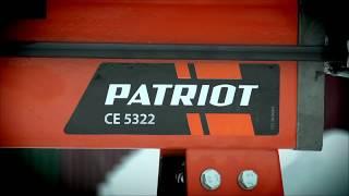 Дровокол электрический Patriot CE 5332 обзор и в работе