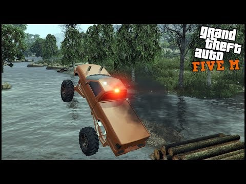 GTA 5 ROLEPLAY - LIFTED S10 SLINGING MUD IN THE SWAMP - EP. 524 - CIV