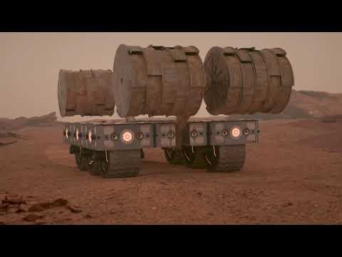 Concept Video Showcasing The Future Of Mars Habitation