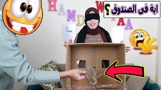 ايش اللى في الصندوق؟ في بيتنا زواحف😱