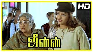 Jeans Movie Scenes | Aishwarya Rai intro | Lakshmi wants to