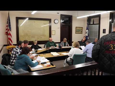 Charleroi Council Meeting 11-13-2019