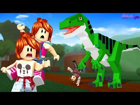 Roblox - DINOSSAURO QUER NOS PEGAR! (Dinosaur Hunter)