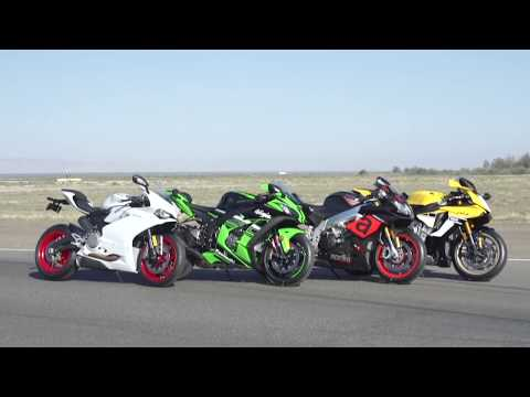 Cycle World's 2016 Superbike Comparison Test