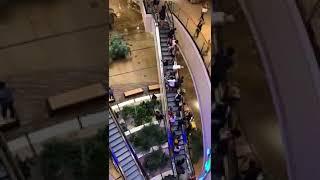 Wuppertal Einkaufscenter wird überflutet - Unwetter trifft Wuppertal - 29.05.2018