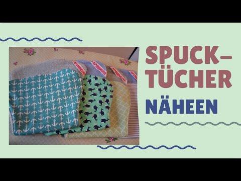 Spucktuch DIY / Baby Accesoires nähen