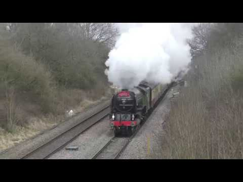 60163 'Tornado' at speed with Pathfinder Tours 'The Sulis an…