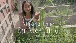 Making Time for Me-Time with Laura Harrier   NET-A-PORTER