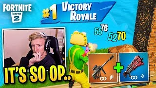 Tfue Discovers *UNBEATABLE* Combo in Chapter 2...