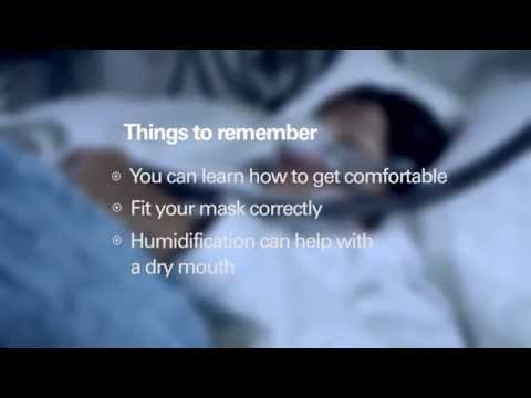Image of Tips for Making CPAP Therapy More Comfortable video