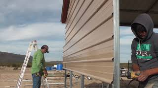 Metal Building Construction For An Affordable Home