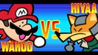 Speedrunner Mario VS Melee Fox - 1M Subscriber Special! - SOMETHING VERSUS 🍄🦊