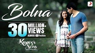 Bolna - Kapoor & Sons | Sidharth Malhotra | Alia Bhatt | Fawad