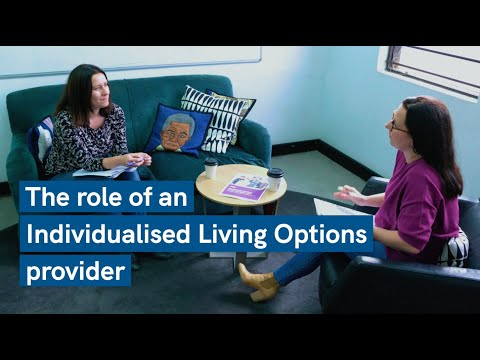 Cover art for: Individualised Living Options: The Role of the Provider