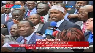 Aden Duale's full speech on the Electoral Laws Debate 22/12/2016