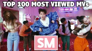 [TOP 100] Most Viewed SM Music Videos (April 2021)