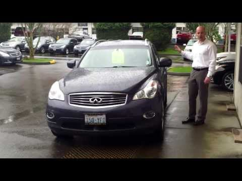2008 Infiniti EX35 AWD review - the amazing G37 coupe with an SUV body!
