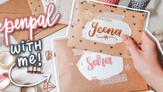 PENPAL WITH ME | writing letters to my subscribers 💌