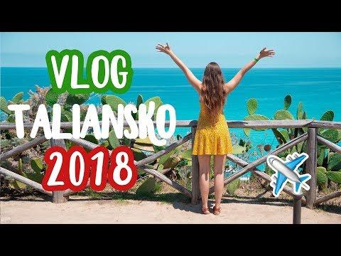 TALIANSKO Pizzo vlog 2018  Patra Bene