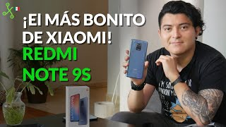 Redmi Note 9S, UNBOXING en MÉXICO: el gama media más bonito de XIAOMI