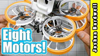 Tiny octo-copter carries a full size GoPro   Axis Flying Air Force Pro X8