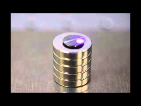 This Tiny Hover-Disc Can Be Driven Around With Nothing But Lasers