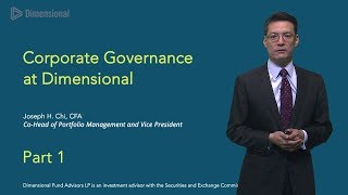 Joe Chi on Corporate Governance: Part One - Show 251