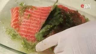 Засол сёмги с коньяком рецепт от шеф-повара / Илья Лазерсон