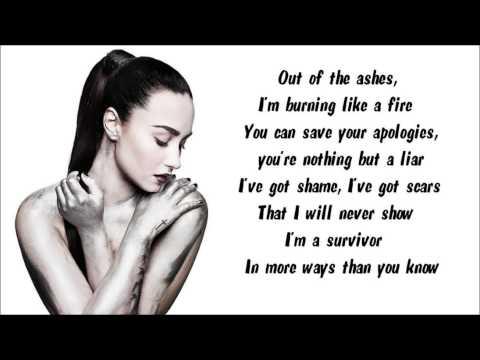 Demi Lovato - Warrior Instrumental / Karaoke with lyrics on screen