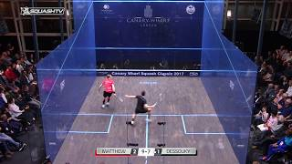 Squash tips: Hitting open space from the front
