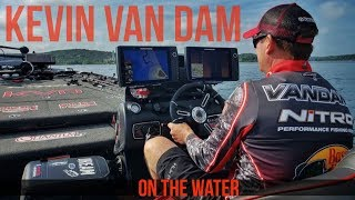 Fishing With Kevin VanDam On Table Rock Lake