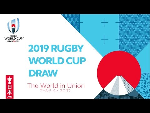 Watch Rugby World Cup Draw Live As