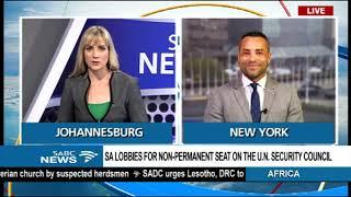 SA's bid for non-permanent seat on UNSC - Sherwin Bryce-Peace