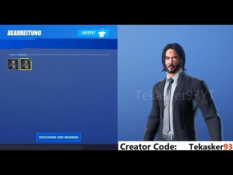 Fortnite, the Skins women's John Wick will not be sold in the shop