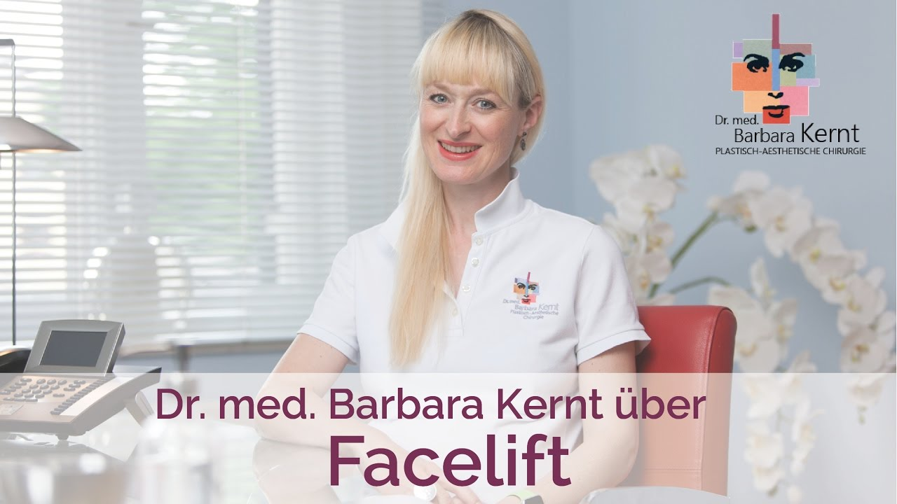 Video Dr. Kernt über das Facelifting