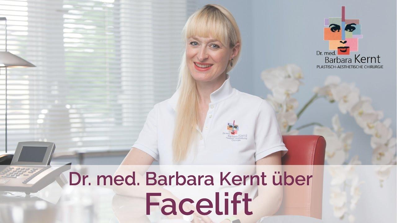 Video Dr. Kernt über das Facelifting